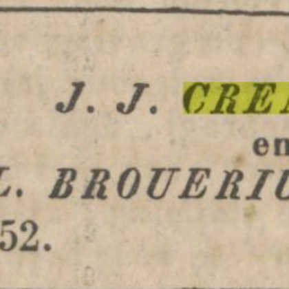 1852: Huwelijk van Johannette Louise Brouerius van Nidek.