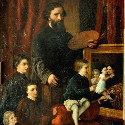 1844-1847: leerling bij de schilder Frederik Hendrik Hendriks in Wolfheze.