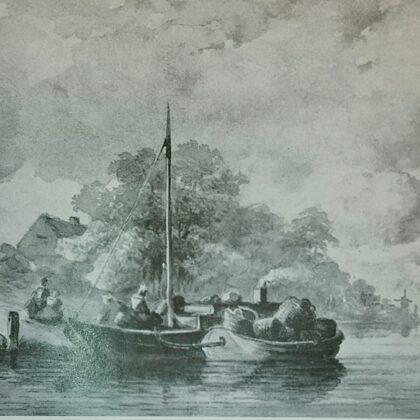 Beurtschepen. 1849