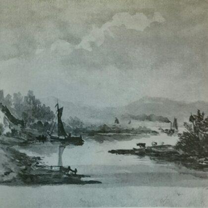 Riviergezicht uit 1849.